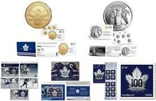 Toronto Maple Leafs 100th Anniversary Coin Pack, Stanley Cup Coin Pack & Stamps