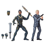 Marvel Legends Series Black Panther Everett Ross & Erik Killmonger