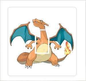 Charizard - Pokemon : Light Switch Sticker vinyl cover decal - 60