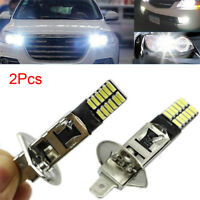 White H1 6500K 24-SMD 4014 LED Car Replacement Bulb For Fog Light Driving DRL HQ