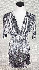 Womens Christina Love Dolman Stretchy Sundress Beach Bling Dress Size Small S