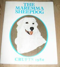 More details for rare maremma sheepdog dog book 1st 1980 limited edition by arthur hammond crufts