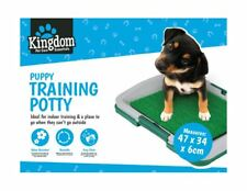 Puppy Pet Dog Indoor Toilet Mat Tray Training Grass Potty Pad Loo Restroom
