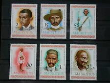 MAURITIUS '1969 * MH 347/352 YT 5,00 EUR MAHATMA GANDHI,DROITS DE L'HOMME