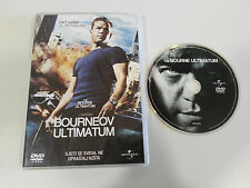 JASON BOURNE EL ULTIMATUM DE BOURNE DVD MATT DAMON ESPAÑOL ENGLISH CROATA