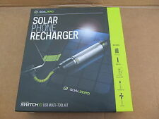 GOALZERO Solar Phone Recharger Switch 10 USB Multi-tool kit w/ Nomad 7 Sol-Panel