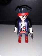 Red & Purple Playmobil Pirate
