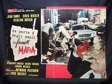 FOTOBUSTA CINEMA -DA PARTE DEGLI AMICI FIRMATO MAFIA-J. YANNE-1971-POLIZIESCO-02