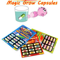 4pc Magic Grow Capsules Baby Cognition Toys Animals Educational Larger Water Toy
