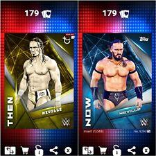 Topps WWE SLAM Digital 2017 Then & Now Neville 1,048CC