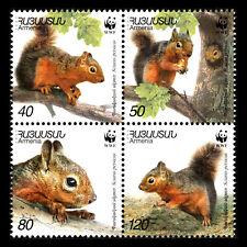 Armenia 2001 - WWF - Persian Squirrel - Sc 632 MNH