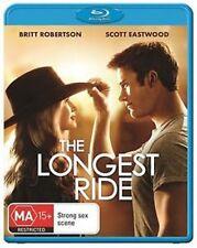 THE LONGEST RIDE (2015 Scott Eastwood)  -  BLU RAY - Sealed Region B