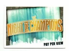 Slam Attax Evolution - NIGHT OF CHAMPIONS - Pay per view  (Ref. 69)