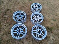 BMW E38 E34 E31 OEM M Parallel 18x9.5/8 Style 37 wheels rims set of 5