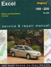 Hyundai Excel 1986-2000 Workshop Repair Manual MPN GAP04285