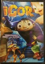 Igor (DVD, 2008) Animated, Brand New Factory Sealed