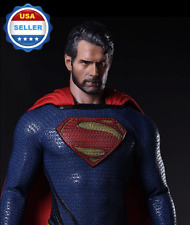 1/6 SUPERMAN Henry Cavil Head Sculpt Man of Steel for 12'' MUSCULAR figure