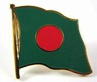 Bangladesh Banderas Alfiler Pin, 1,5 cm, Nuevo con Cierre de Presión
