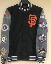 San Francisco GIANTS Franchise Varsity Jacket by G-III -Lightweight Championship