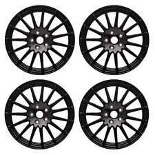 OEM 2015-2018 Subaru WRX Alloy Wheel Set 4 18-inch 15-spoke Black NEW B3110VA040