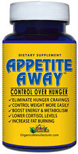 APPETITE AWAY ADVANCED APPETITE SUPPRESSANT  WEIGHT LOSS SUPPLEMENT 60 Capsules