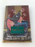 "Walt Disney Collectors Society Collectibles Button Pin Pinback 3"" 1995 Dumbo"