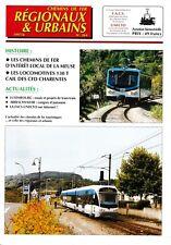 CHEMINS de FER RÉGIONAUX et URBAINS - N° 264 (1997 - 6) (FACS - CFRU) (Train)