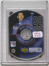 "1999/00 Gretzky UD ""PowerDeck"" Insert Card PD7"