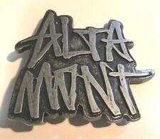 Altamont Belt Metal Buckle