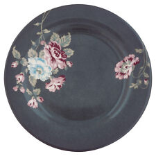 Greengate Floral Side Plate in Maude Dark Grey