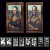 Holographic Changing Picture Photo Portrait Halloween Scene Setter Decoration