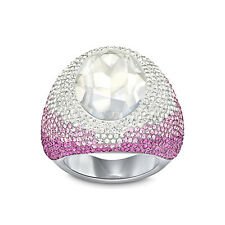 swarovski anello originale gioiello pink crystal original ring bague authentique