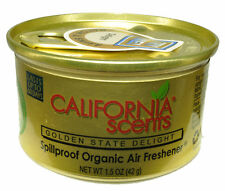California Scents Spillproof Organic Air Fresheners 12ct.-Golden State Delight