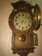 ANTIQUE RARE  PHILIPP HAAS & SON  WALL CLOCK.  Working Condition.