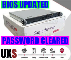 1U Open Source Router Firewall X10SLH-N6- E3-1270 V3 6x 10GB Ethernet 16GB RAM