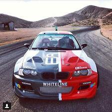 BMW E46 M3 GTR Vented Race Hood  2DR '01-'06 CFRP CARBON FIBER 2x2