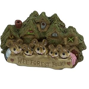 Wee Forest Folk Miniature Figurine 1983 Peterson Family Retail Store Sign WFF 1