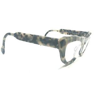 Theo James 19 Eyeglasses Sunglasses Frames Modern Cat Eye Gray Tortoise 130
