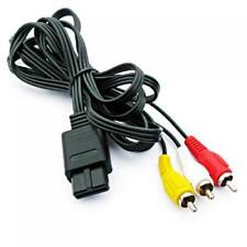 3 RCA Video Audio Converter Component AV Cable for Nintendo N64 Gamecube