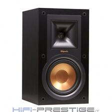 PAIR SPEAKERS SUPPORT KLIPSCH R-15M BLACK COFFERS REFERENCE ITALIAN WARRANTY