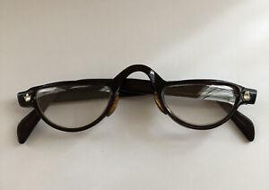 Vintage RATTI Brown Reading Glasses Eyeglasses