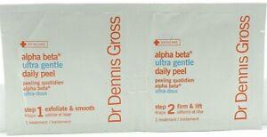 Dr Dennis Gross Skincare Alpha Beta Ultra Gentle Daily Peel Step1 Step2Treatment
