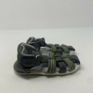 Carters Every Step Toddler Kids Addison CS171251 Gray Casual Sandal Size 4