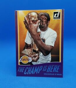 2017-18 Donruss The Champ is Here #7 Shaquille O'Neal