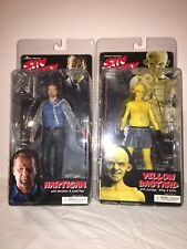 Lot of 2 Neca Reel Toys Sin City Series 1 2005 Figures Hartigan & Yellow Bastard