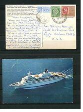 MS Royal Viking Star on Cruse 1973 Schiffsbild Paqueboot (SP)