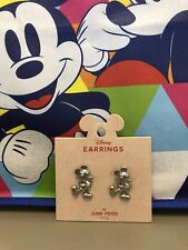 New Mickey Mouse Icon Earrings By Junk Food