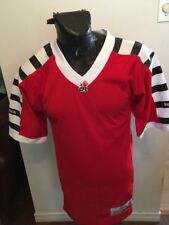 Adult SMALL Football REEBOK Jersey CFL Hamilton Wildcats throwback