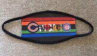 Chicago Teams (Bears Blackhawks Bulls Cubs White Sox) Face Mask/Cover