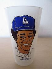 1973 7-Eleven Mlb Baseball Slurpee Cup. *Willie Davis* Los Angeles Dodgers.